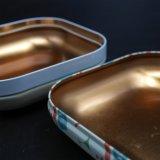 Zinnblech-Brot-Kasten; Schokolade Sweets&Candy Metallzinn (S001-V27)