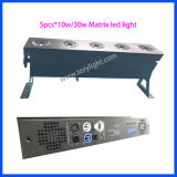 CREE LED Matrix-Audios-Licht des Stab-Blinder-LED 5PCS*30W