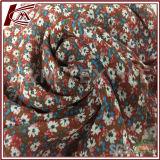Tela de rayon viscoso da tela de seda 100 de Zhou do cair para o traje