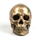 수지 두개골 형 형 유연한 설탕 초콜렛 실리콘 죽은 카메오 일