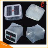 Etanche PVC Pliable gonflable LED Cube Lumière Solar Power Camping Lanterne pour extérieur éclairage de secours