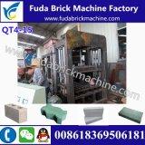 Macchina idraulica del mattone del lastricatore della sabbia dell'India Qt4-15/macchina vuota concreta del blocco