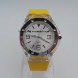 Relógios de mão de silicone Relógios de silicone analógicos de alto desempenho para homens Senhoras