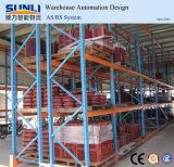 cremalheira resistente de aço ajustável da pálete do armazenamento do armazém de 75mm Q235B