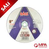 Roda de moedura de lustro do centro deprimido da ferramenta do disco da estaca de Yongkang