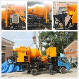 시간 판매를 위한 양수 산출 트럭에 의하여 거치되는 구체 믹서 펌프 당 40m3