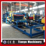 """Panneau """"sandwich"""" d'ENV formant la ligne de production à la machine avec la qualité"""