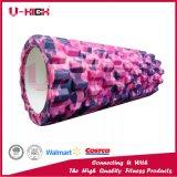 Estampage chaud de mousse de rouleau de rouleau à haute densité de massage