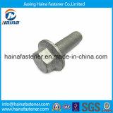 DIN6921 Galvanisierung-Hexagon-Flansch-Schraube des Edelstahl-316 heiße