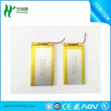 Long Cycle Life Batterie rechargeable 3.7V 1000mAh Li Polymer pour produits numériques