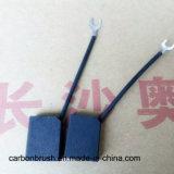Escovas de carbono grafite colados de resina para o motor F61