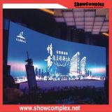Afficheur LED P6 incurvé polychrome de haute résolution pour l'exposition d'étape