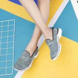 Les femmes les plus neuves que le Slip-on Flyknit folâtre les chaussures occasionnelles personnalisent en gros (MB7093)
