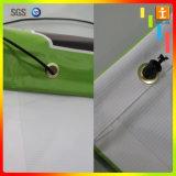 Bandiere su ordinazione della maglia del PVC del vinile di stampa della rete fissa esterna (Tj-04)
