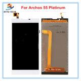 Archos 55 백금 50 백금 전시 수치기 회의를 위한 이동 전화 접촉 스크린 LCD