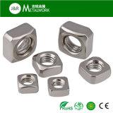 Noix carrée plaquée galvanisée galvanisée d'acier du carbone (DIN557)