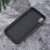 iPhone 8을%s 실제적인 진짜 가죽 전화 상자