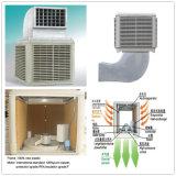 Luftstrom 18000m3/H entladen unten bewegliche Breezair Verdampfungsluft-Kühlvorrichtung