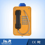 Wetterfestes Telefon, Tunnel-Wechselsprechanlage, bellen das drahtlose Telefon und gewinnen SIP-Telefon