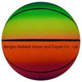 Juguetes de PVC Inflables Color Impresión Rainbow Basketball
