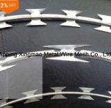 機密保護によって保護されるアコーディオン式かみそりとげがあるテープワイヤー(CBT-65)