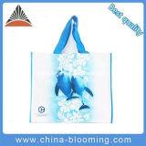 Sac d'emballage de achat non tissé amical d'impression de dauphin d'Eco