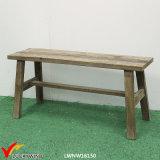 販売のための旧式なフランスの固体木のベンチ