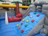 子供の膨脹可能な運動場の遊園地