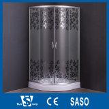 Cercos impressos mosaico do chuveiro do vidro Tempered
