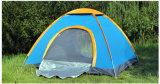 يفرقع خيمة فوقيّة أو فوق خيمة يتيح أن ينصب وطويت
