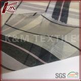 12mmの小切手パターン印刷の絹の綿織物の布材料