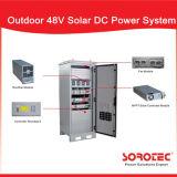 ハイブリッド格子コミュニケーション基地局のための太陽48VDCパワー系統