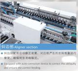 Caixa quatro seis de canto que cola a máquina de dobramento (GK-1450SLJ)