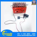 Commercio all'ingrosso 3ah, 4ah, 5ah, 7ah, 9ah, batteria di potere di Vasworld del motociclo del gel di 12ah 12V