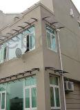 100× de Luifel van de Bescherming van de Dekking van de Regen van de Ingang van de Raad van het Polycarbonaat van het Frame PPO van 120cm