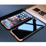 二重カラー金属のiPhone 7/6s/6のための豊富な電話箱と