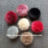 De alta calidad china Fox Pompom de pieles para decorar