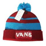 フランジを付けたようになる刺繍された冬の帽子の帽子(JRK072)
