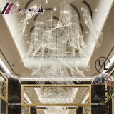 현대 유리제 관 디자인 펀던트 램프 점화는 를 위한 꾸민다