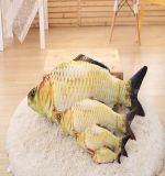 3Dによって印刷される魚のプラシ天のおもちゃのように実質