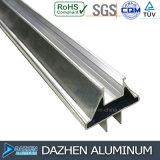 Profil en aluminium d'extrusion avec l'enduit de poudre pour la porte de guichet