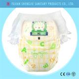 Calças de bebé descartáveis Ultraventilada Fabricante de fraldas