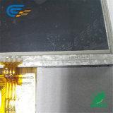"""4.3 """" Betrachtungs-Winkel-12:00 1X7 LED TFT Typ LCD-Bildschirmanzeige mit widerstrebendem mit Berührungseingabe Bildschirm"""