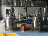 ステンレス鋼の真空の混合タンク1000literはとのアジテータを底擦る