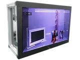 24 인치 HDMI 입력을%s 가진 유리제 전시 상자 진열장