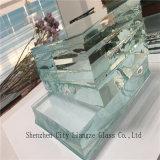 glace ultra claire en verre de 15mm/flotteur/glace claire pour les murs rideaux