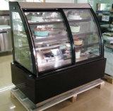 Réfrigérateur ouvert frigorifié de Ventilateur-Refroidissement de gâteau d'avant de cas d'exposition de boulangerie (KT770AF-S2)