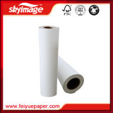 Anti-Curl, Elimina o Ghosting 105GSM 610mm * 24 polegadas Sticky / Tacky Sublimation Transfer Paper