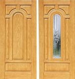 防音の二重葉のガラス繊維の合成の内部の出入口