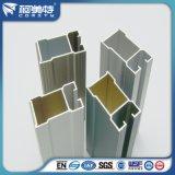 Profilo di alluminio della fabbrica/espulsione di alluminio per la finestra di /Sliding della stoffa per tendine